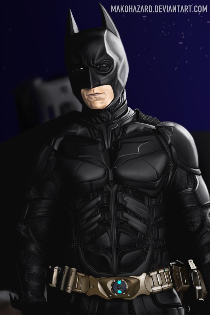 Batman Study by JoelWhite