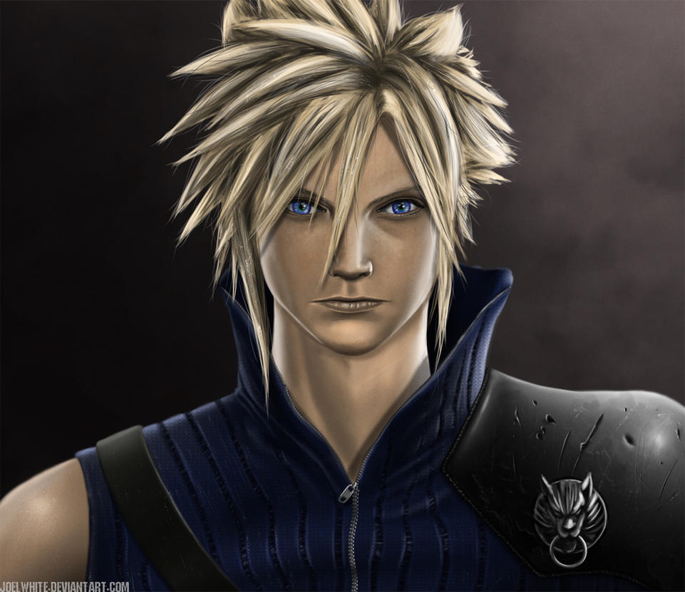 Cloud Strife by JoelWhite