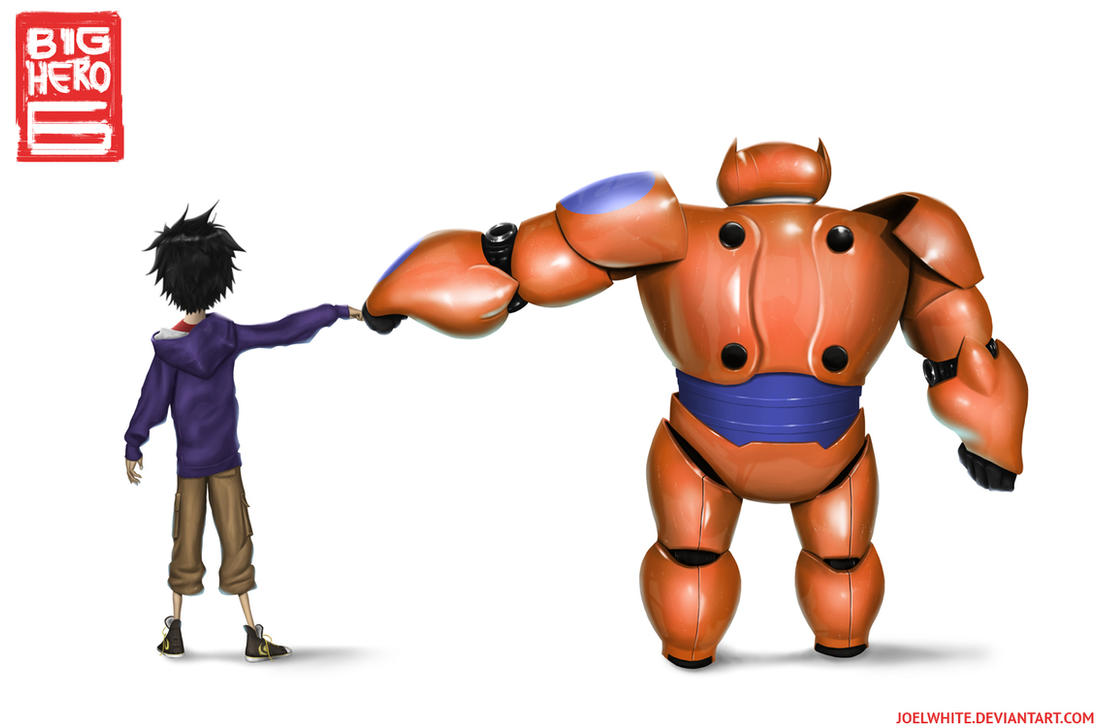 Hiro and Baymax by JoelWhite