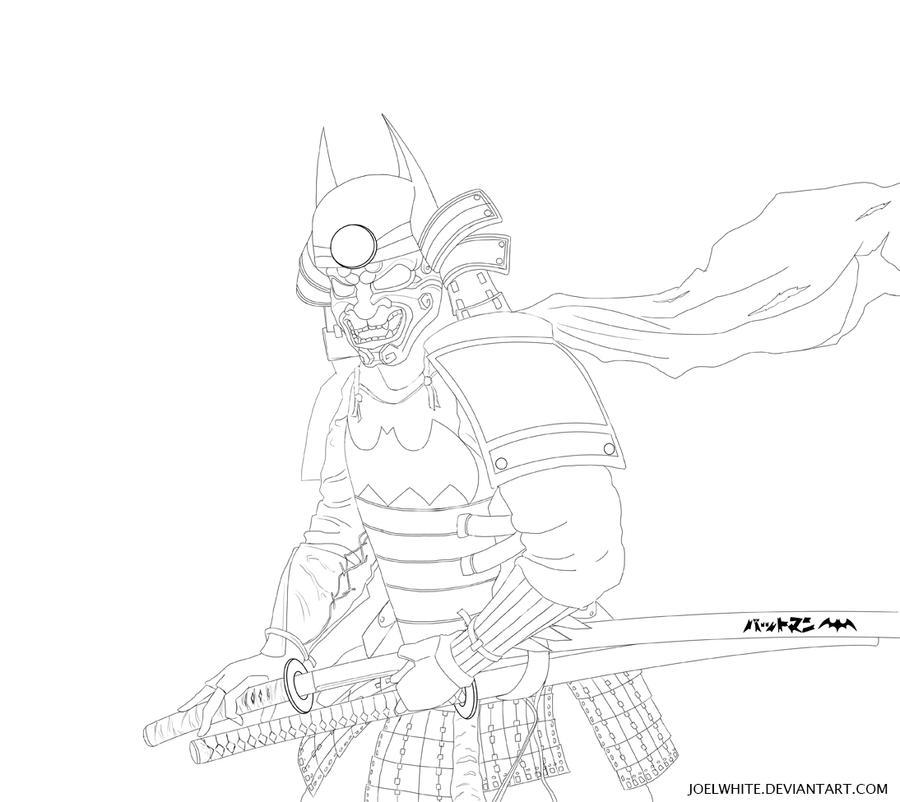 Edo Batman by JoelWhite