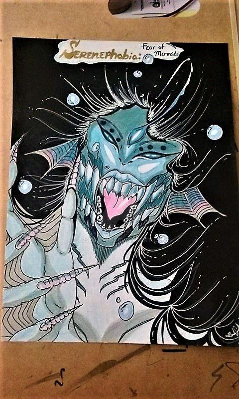 Serenephobia Angler Fish Siren 1 by B2STgirl18