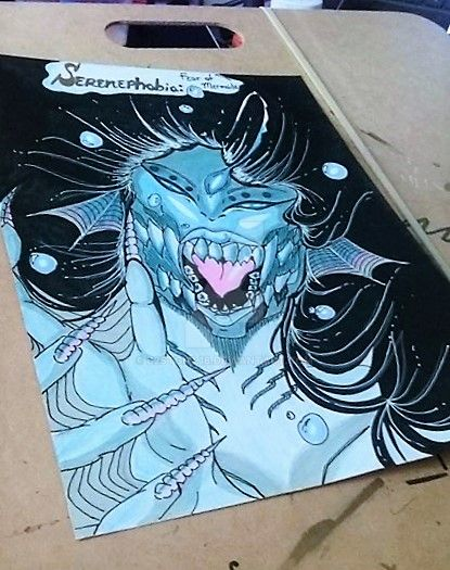 Serenephobia Angler Fish Siren Angled by B2STgirl18