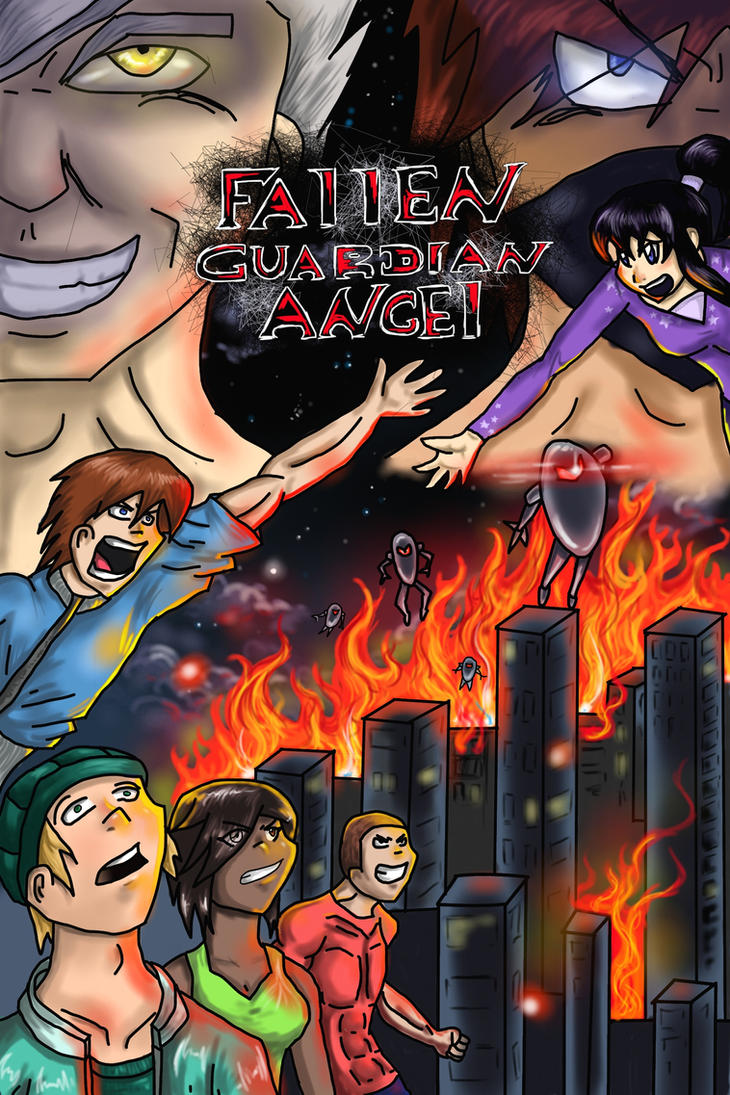 Fallen Guardian Angel Cover by ZacharoTheAngel
