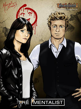 The Mentalist in manga style