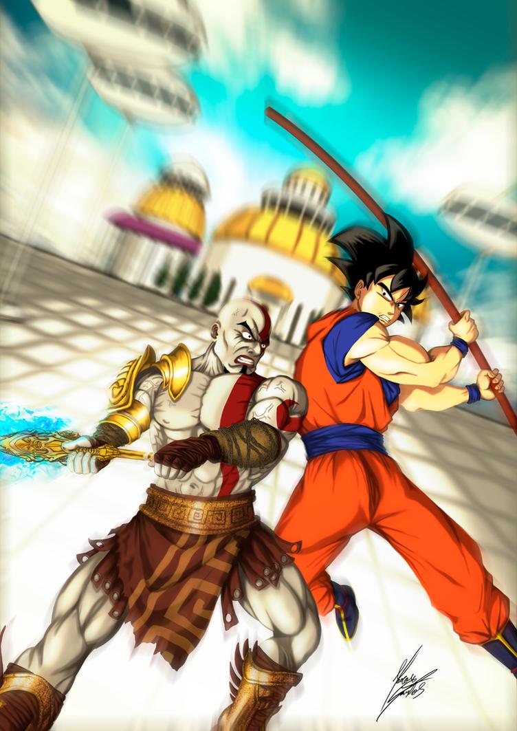 kratos vs goku wwwpixsharkcom images galleries with