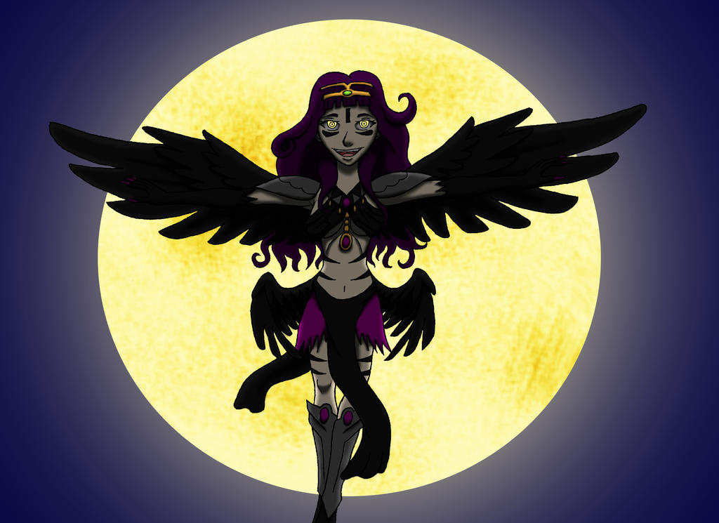 Crow Queen of the Night by Jolttenk