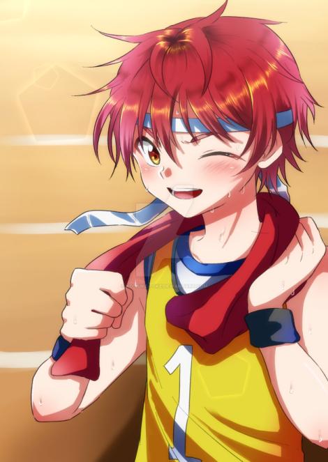 red hair boy by Ko-Suke-poke