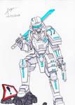 Neo-Samurai by PostApoc-Gear42