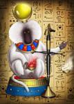 Calendar 2016 January  Baboon Thoth