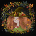 Wandelina Autumn witch cover-book