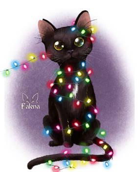 Christmas cats - Plato