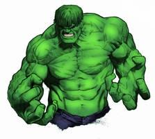 Smooth Skin Hulk by scrove