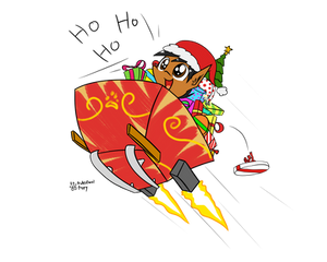 Christmas - Santa Pup
