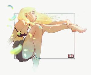 Sun Flower by Waveloop