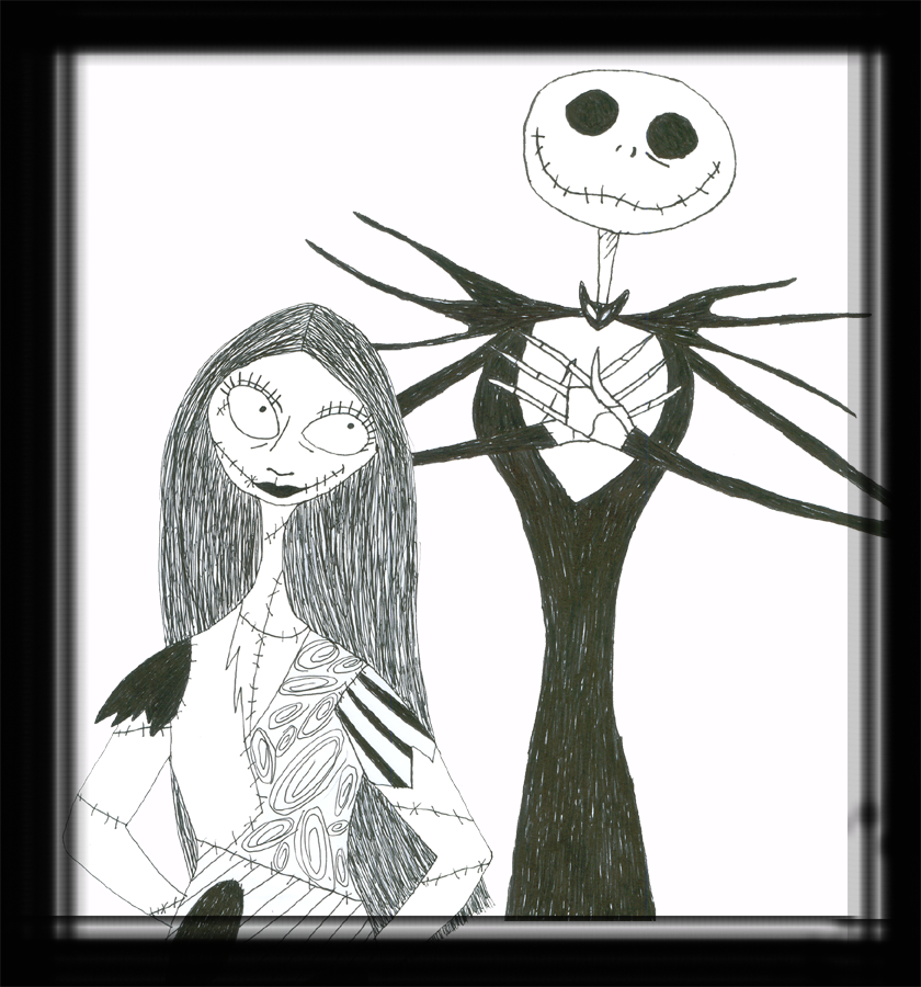 Jack And Sally By TheDisappearingGirl On DeviantART