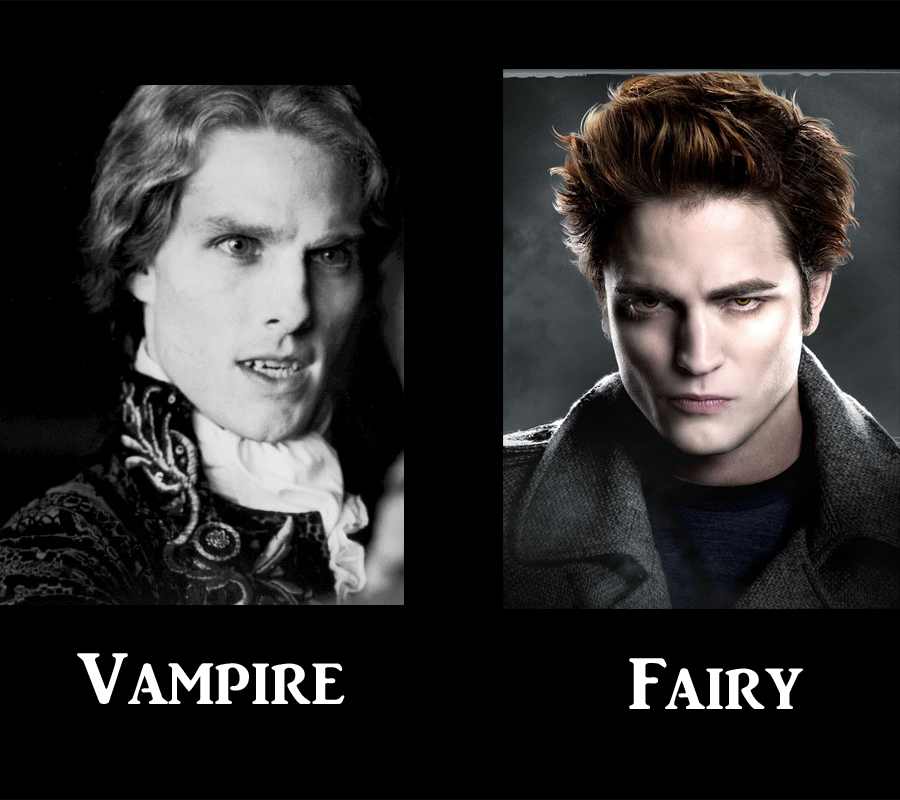 Vampire VS Fairy by TheDisappearingGirl on DeviantArt