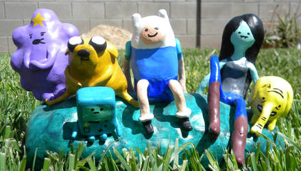 3173ca69bbd845 LimpingGnome 5 10 Adventure Time sculpture by TheDisappearingGirl