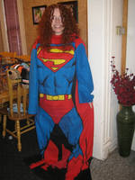Bethany (bethanyfrye) in the Superman Snuggie by paulablox