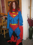 Bethany (bethanyfrye) in the Superman Snuggie