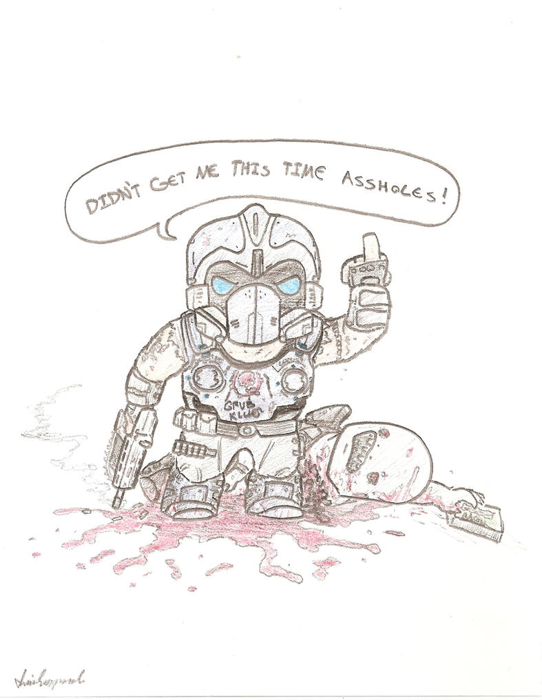 Uncategorized Gears Of War Coloring Pages gears of war 3 carmine lives by illintentions on deviantart illintentions