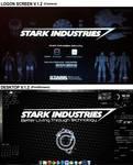 Stark Industries Rainmeter V.2