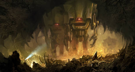 Titans trail by Aleksei-Liakh