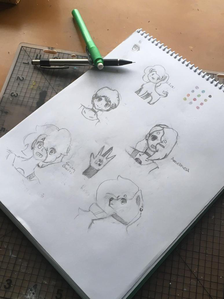 Sketchbook pg.1 by Elladog1