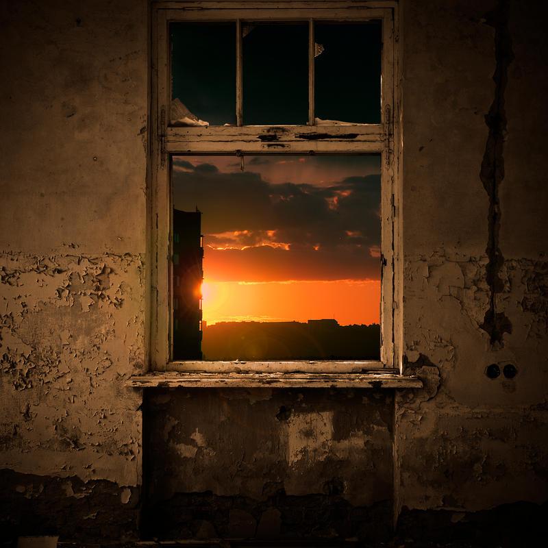 An Old Window by AlexKPhoto