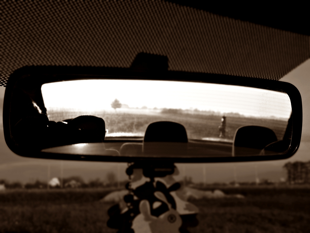looking back by D-u-D