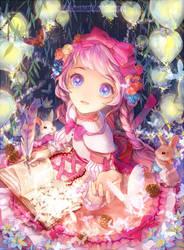 The fairy tale poet. by MoonlightYUE