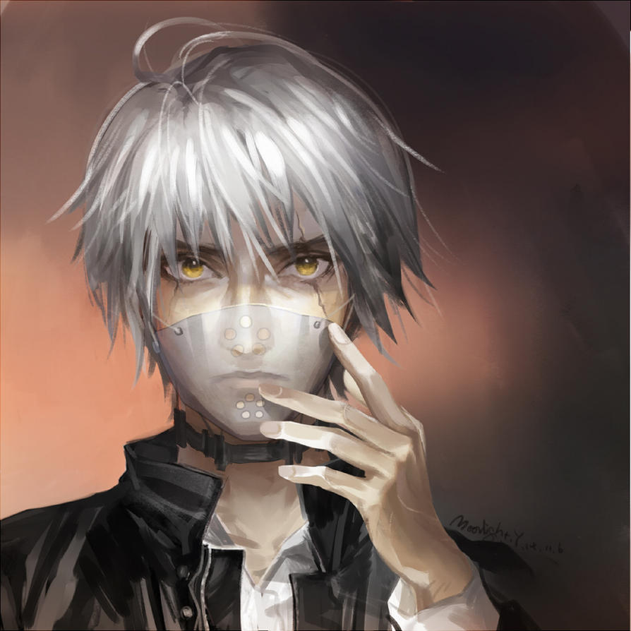 The head of Tokyo Ghoul by MoonlightYUE on DeviantArt