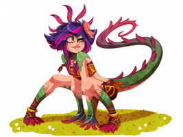 Neeko: The Curious Chameleon by AnInnocentDemon