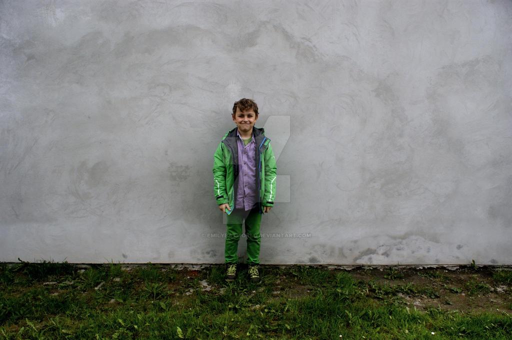 Kuba and the wall. by EmilyEatworlD