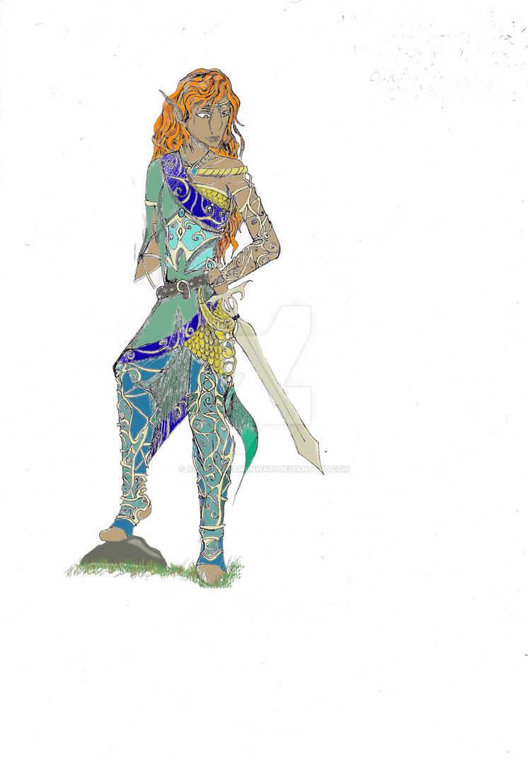 DA:I Sulahn'mi: The Champion Seeker by AeantizLKamenwati