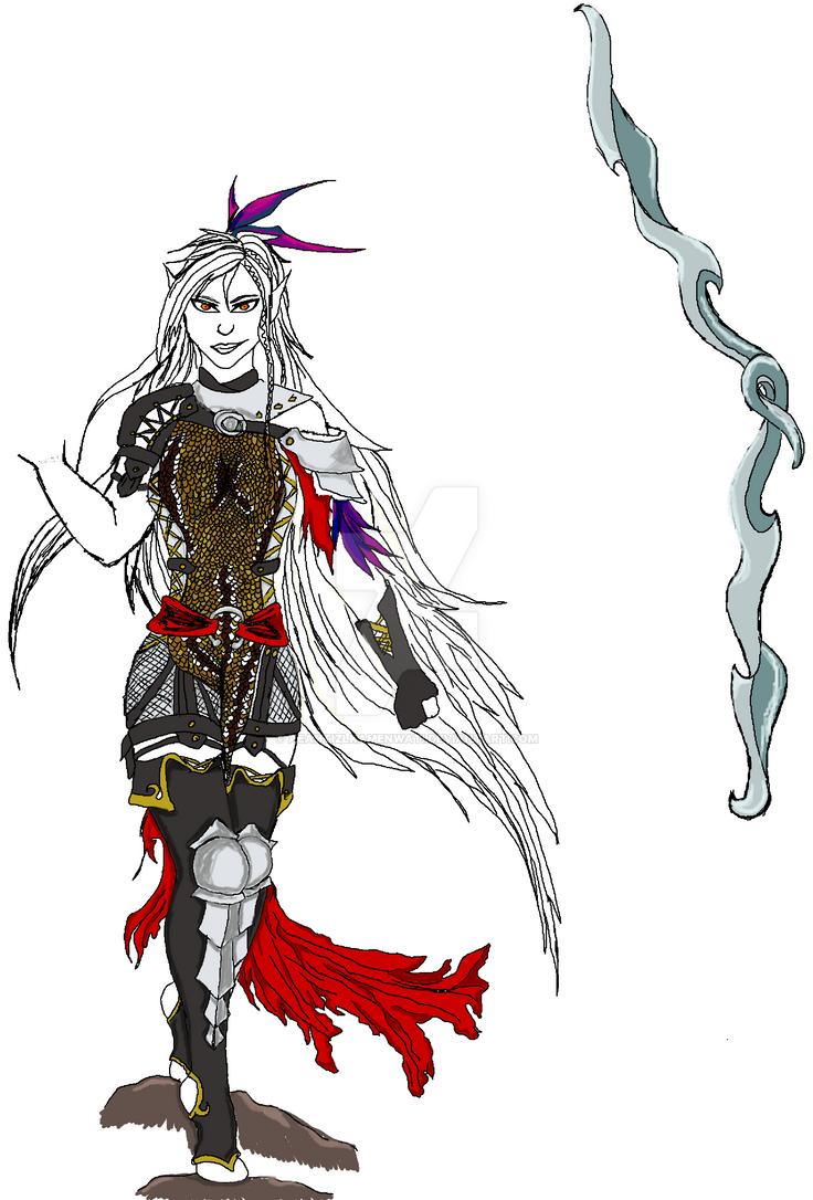 DA: I Concept: The Tevinter Wolf: Sulen'raja by AeantizLKamenwati