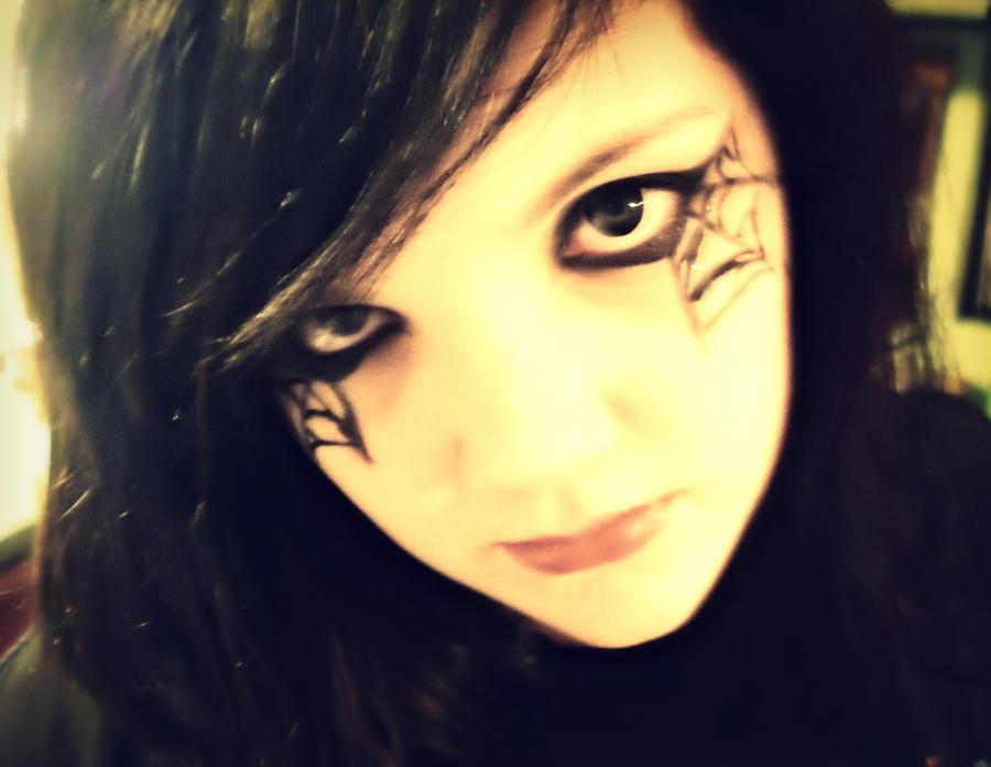 Spider Web Makeup By Jolenickson On Deviantart