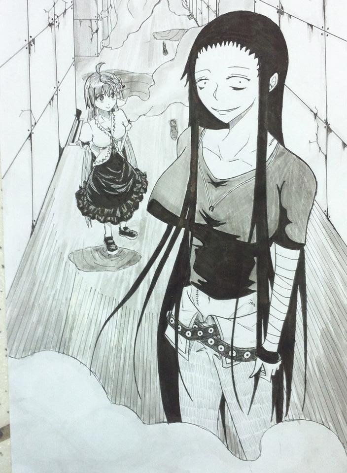 Murcielago Kuroko X Hinako By Halli Art