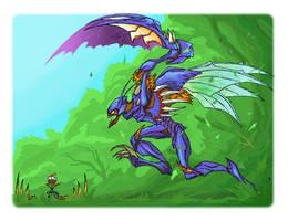 Kha'Zix the Voidreaver by Bitex93