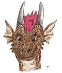 Dragon detail- Me