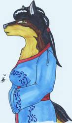 Jadeclaw- The Dog by dragonslorefury