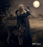 Lady Halcon by Adriana-Madrid