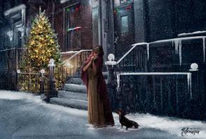 Christmas alone by Adriana-Madrid