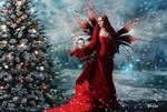 Hada de navidad