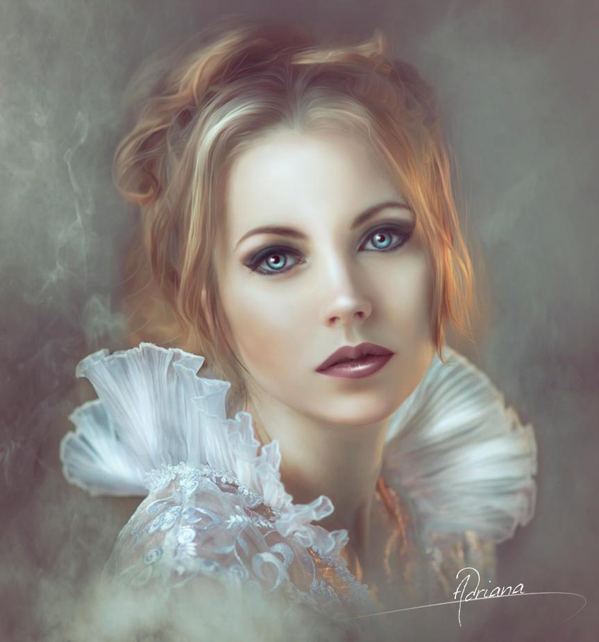 Retrato by Adriana-Madrid