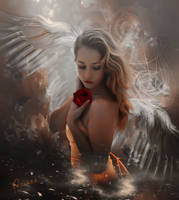 The sadness of the angel
