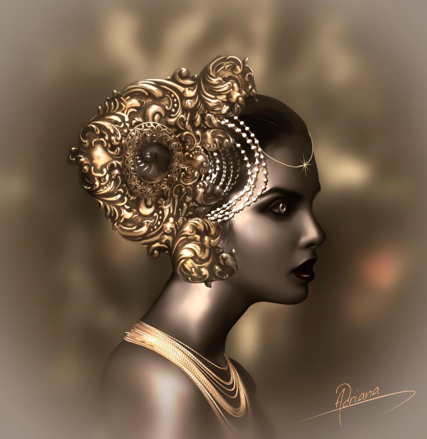 The princess by Adriana-Madrid