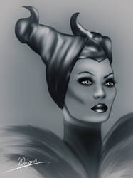 Malefica by Adriana-Madrid