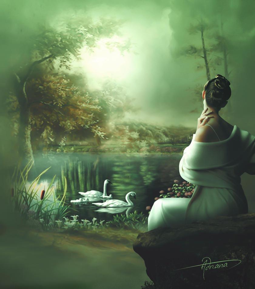 El estanque by Adriana-Madrid