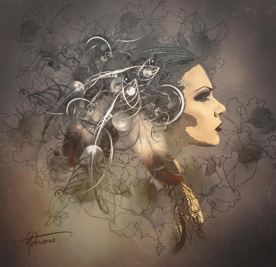 Ella y sus momentos by Adriana-Madrid