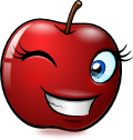 Smiling Objects Apple Emotee By Mondspeer-d8j8i7y by Adriana-Madrid